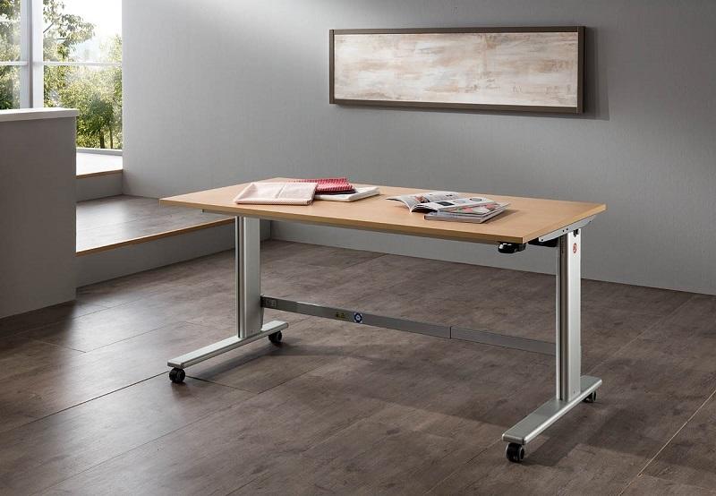 e table n h und basteltisch ohne lift n hwelt flach. Black Bedroom Furniture Sets. Home Design Ideas