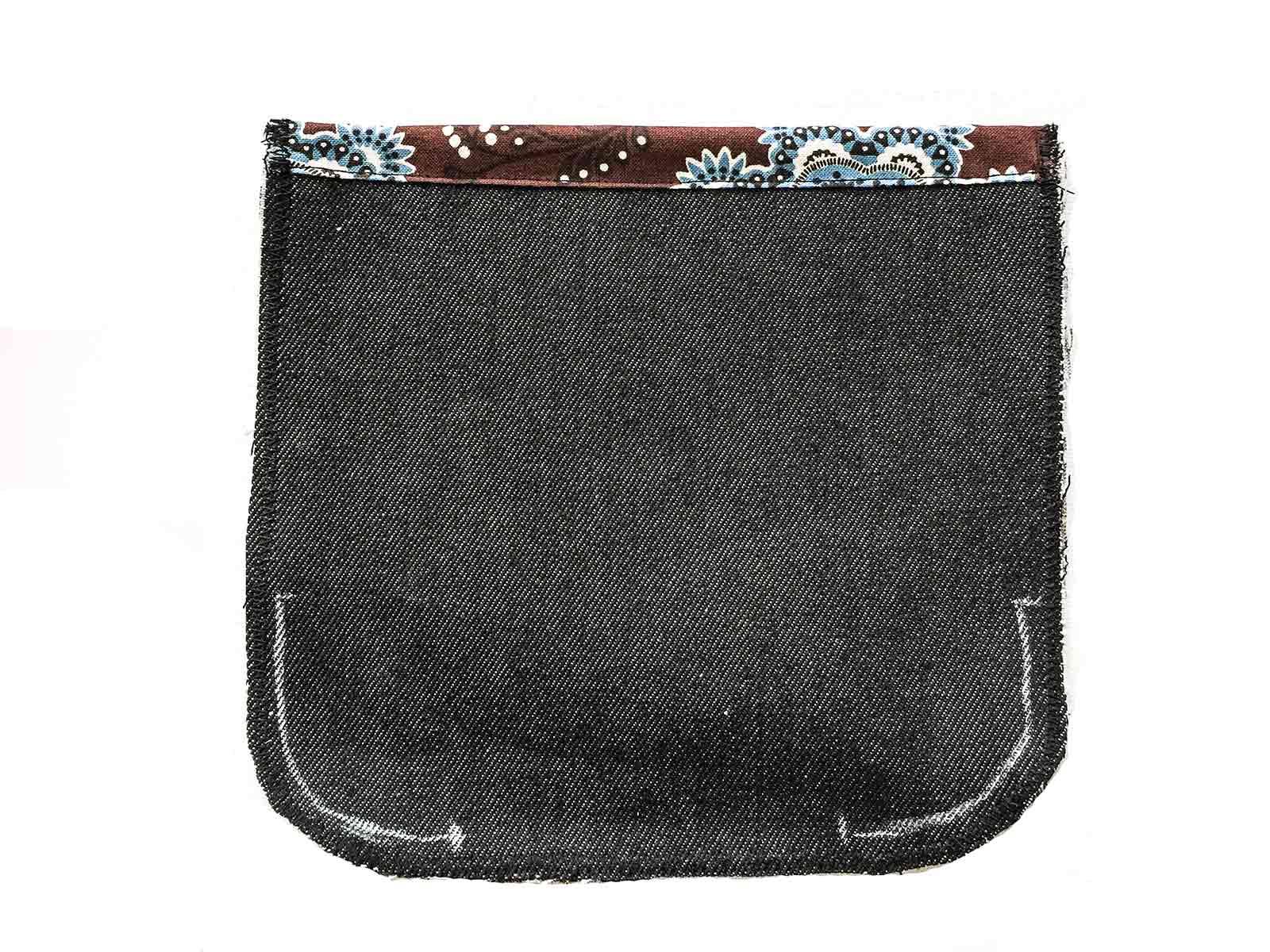 Aufgesetzte Tasche nähen | Nähwelt Flach
