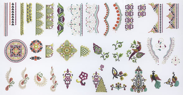 Bernina Studio Design Collection Vol. 6 Silk Road Elegance | Nähwelt ...