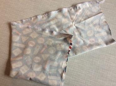 Dehnbarer Jerseystoff für Halstuch