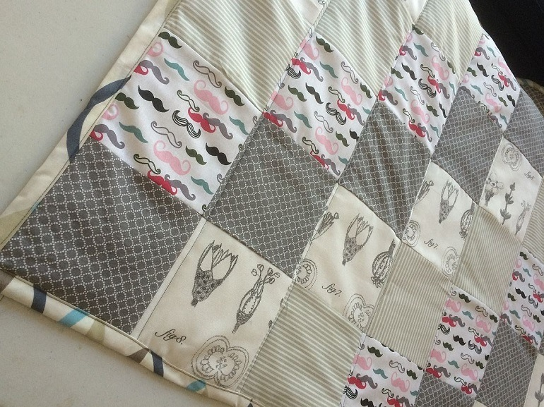 Material für Decke.
