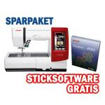 Janome Memory Craft 9900 + Sticksoftware