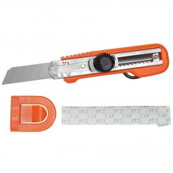 KAI Cuttermesser mit flexiblem Fingerring (orange)