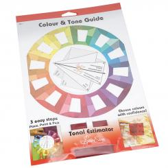 Sew Easy Farbkreis Schablone Colour & Tone Guide