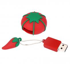 USB Stick Design Tomate rot (2 GB)
