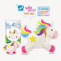 "Kullaloo Nähset Einhorn ""LADY LU"" KINDERLEICHT Serie ""Magic World"""