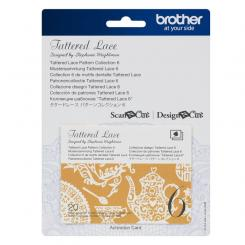 Brother Mustersammlung - Tattered Lace Nr. 6 - 20 Designs