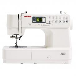 Janome M30A Messemodell Computer Nähmaschine