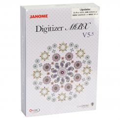 Janome Update Digitizer auf MBX V5.5 (ab Pro Version 2/3, MB V2/V3, MBX V4/V4.5)