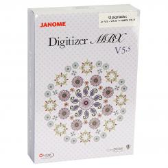 Janome Upgrade Digitizer auf MBX V5.5 (ab Junior V3/ V4/ V5.5)