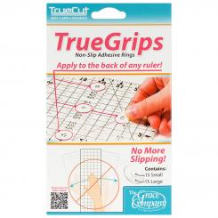TrueCut TrueGrips Anti-Rutsch-Punkte (Ø 20 mm/ transparent/ 15 St.)