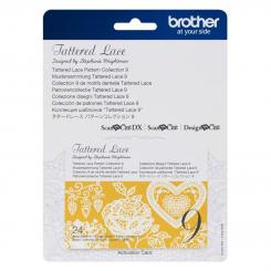 Brother Mustersammlung - Tattered Lace Nr. 9 - 24 Designs