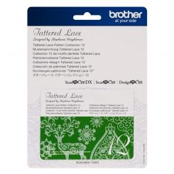 Brother Mustersammlung - Tattered Lace Nr. 12 - 16 Designs
