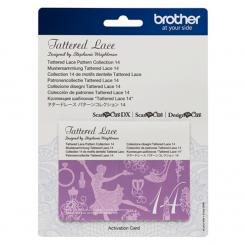 Brother Mustersammlung - Tattered Lace Nr. 14 - 22 Designs