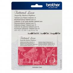 Brother Mustersammlung - Tattered Lace Nr. 15 - 21 Designs