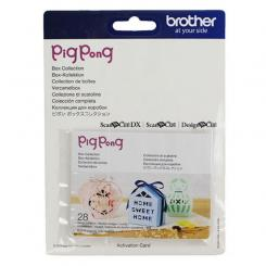 Brother Mustersammlungs-Kit PigPong Box Kollektion - 28 Designs