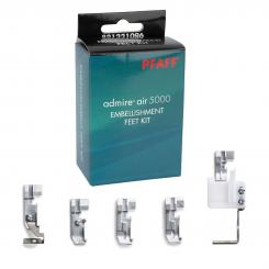 Pfaff admire air 5000 Füßchen-Set EMBELLISHMENT FEET KIT (5-teilig)