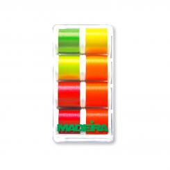 Madeira Neoncolor No.40 Stickbox (8 Farben/ 400 m)