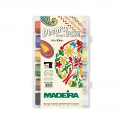 Madeira Decora No.12 Smartbox (18 Farben/ 300 m)
