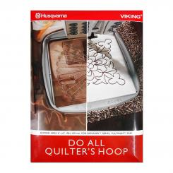 Husqvarna Viking Do All Quilters Hoop (150 mm x 150 mm)