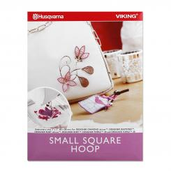 Husqvarna Viking Small Square Hoop (80 mm x 80 mm)