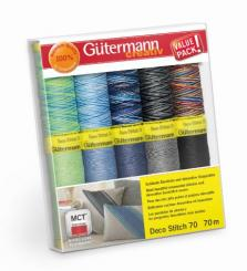 Gütermann Deco Stitch Nähfaden-Set-2 (10 Farben/ 70 m)