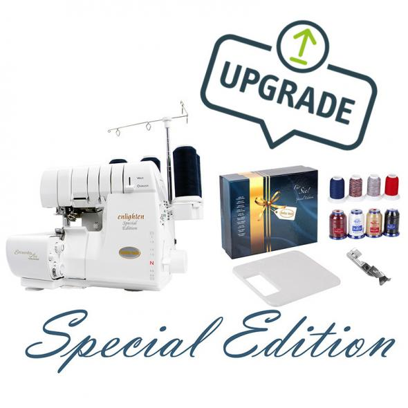 Baby Lock enlighten Special Edition 4 Faden Overlock (mit Geschenkbox)