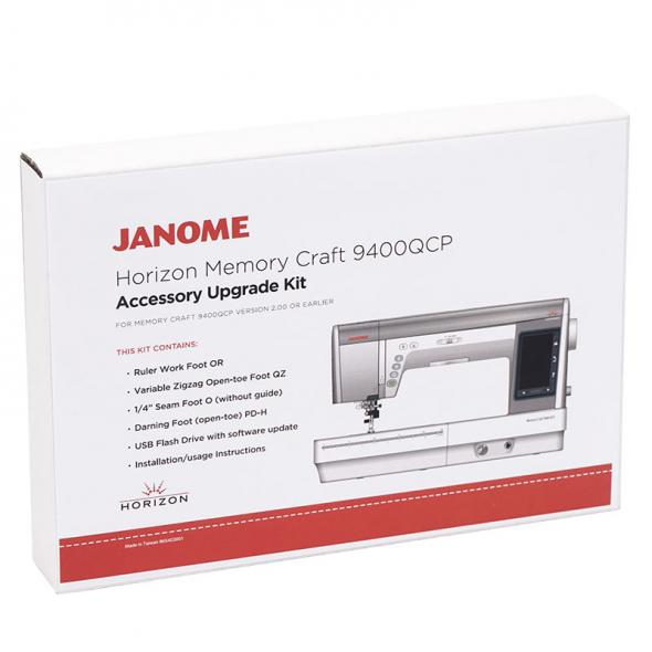 Janome Accessory Upgrade Kit für Memory Craft 9400QCP