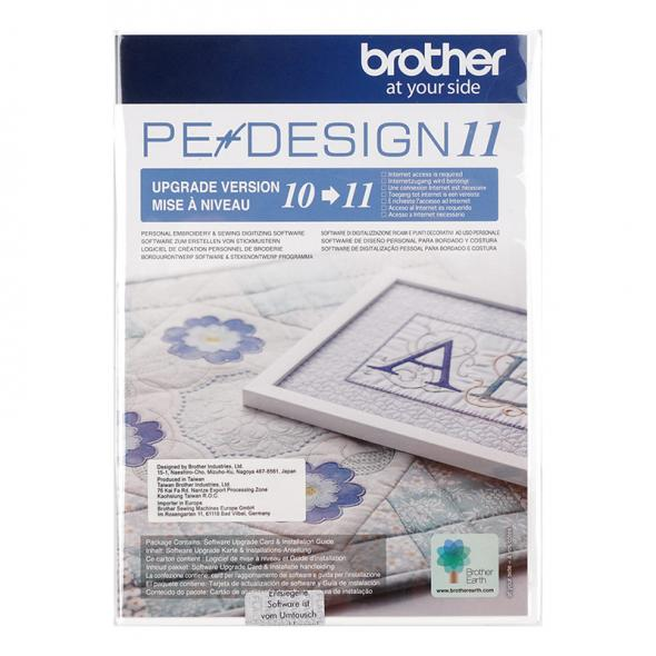 Brother PE Design Upgrade von 10 auf PE Design 11