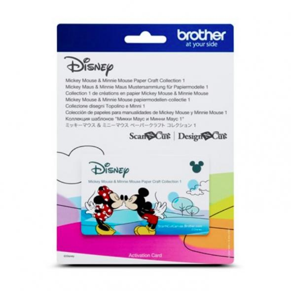 Brother Mustersammlung - Disney Mickey & Minni Maus - 26 Designs
