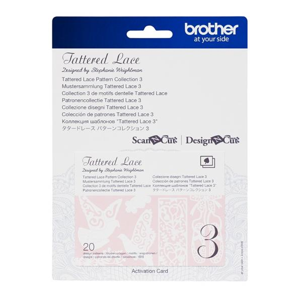Brother Mustersammlung - Tattered Lace Nr. 3 - 20 Designs