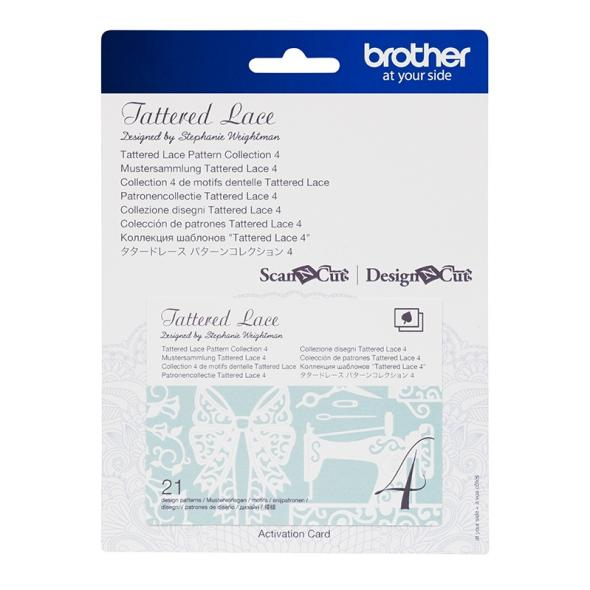 Brother Mustersammlung - Tattered Lace Nr. 4 - 21 Designs