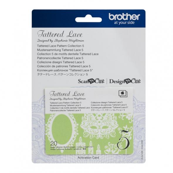 Brother Mustersammlung - Tattered Lace Nr. 5 - 20 Designs