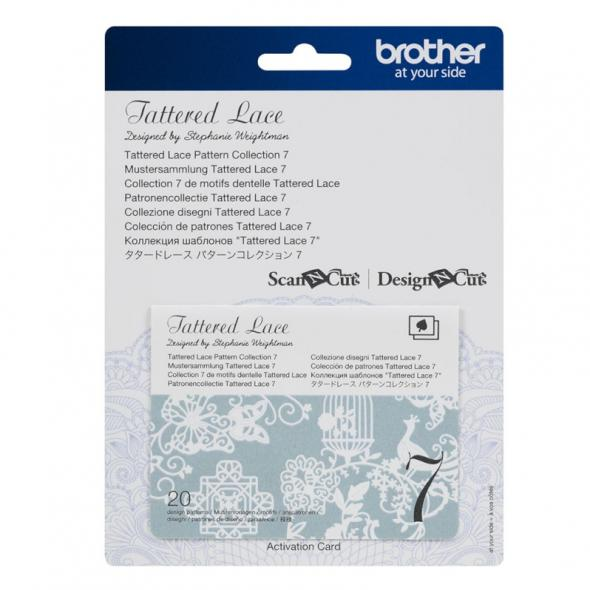 Brother Mustersammlung - Tattered Lace Nr. 7 - 20 Designs