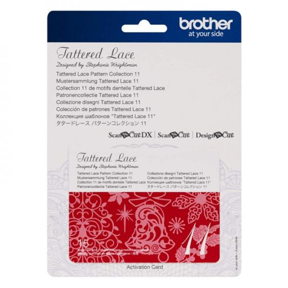 Brother Mustersammlung - Tattered Lace Nr. 11 - 15 Designs