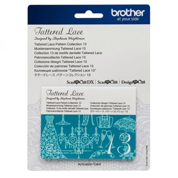Brother Mustersammlung - Tattered Lace Nr. 13 - 22 Designs