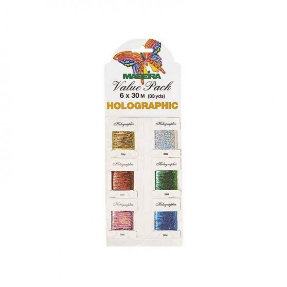 Madeira Value Pack Holographic Garn (6 x 30 m)