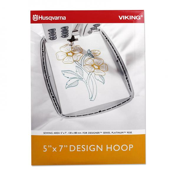 Husqvarna Viking 5 x 7 Design Hoop (180 mm x 130 mm)