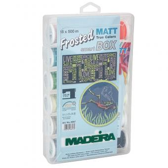 Madeira Smartbox Frosted MATT No.40 (18 Farben, 500 m)
