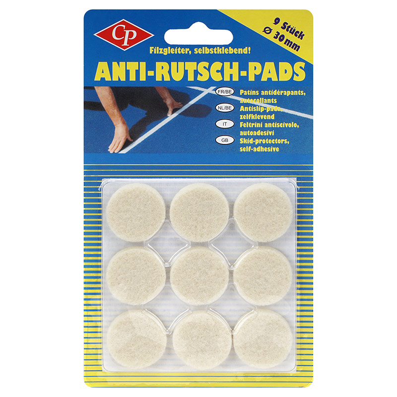 Antirutsch pads gallery of with antirutsch pads awesome - Filz unter mobel ...
