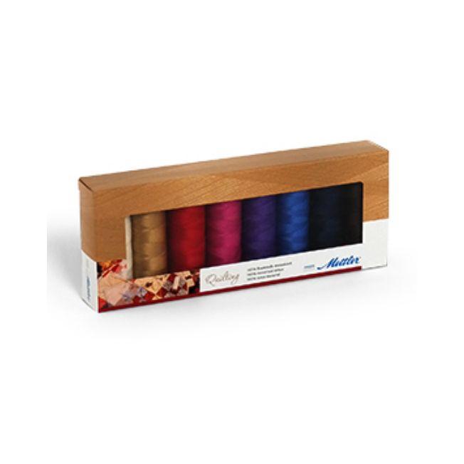 Amann Mettler Silk-Finish Cotton Nr.40 Quilting (8 Farben/ 150 m ...