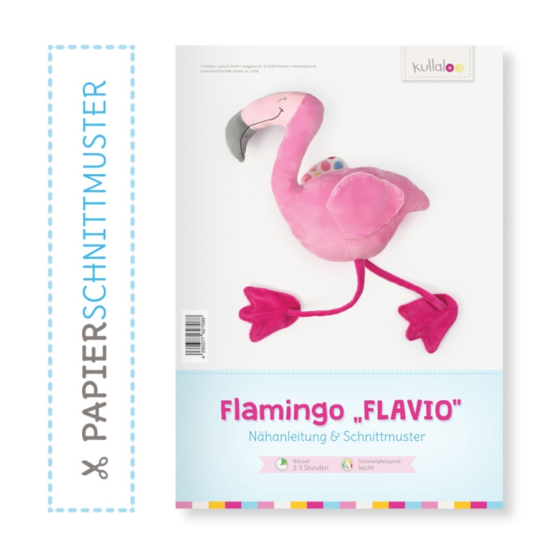 Kullaloo Print-Book Flamingo \