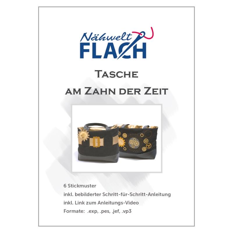 Nähwelt Flach Stickmuster CD \