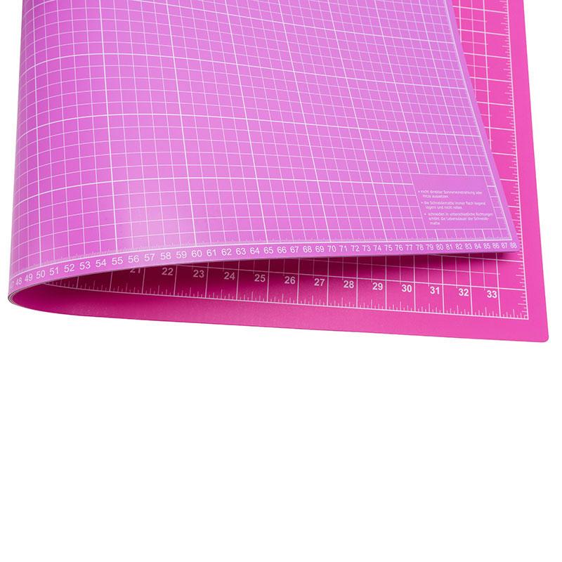 Schneidematte Pink Flieder 90 X 60 Cm 36 X 24 Inch Nähwelt Flach