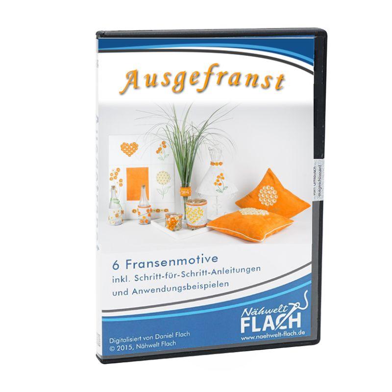 Nähwelt Flach Stickmuster Ausgefranst | Nähwelt Flach