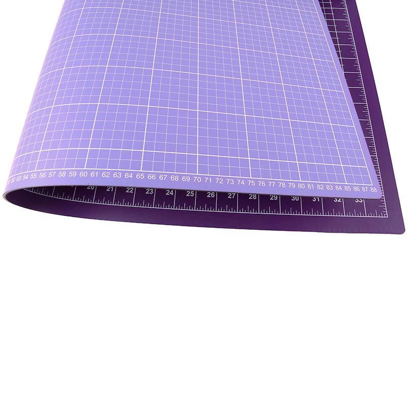 schneidematte lila fliederblau 80 x 120 cm 30 x 48 inch n hwelt flach. Black Bedroom Furniture Sets. Home Design Ideas