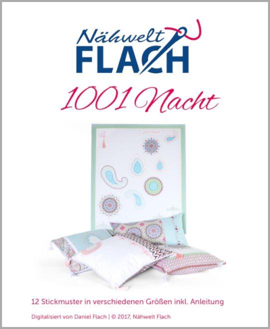 Nähwelt Flach Stickmuster CD 1001 Nacht | Nähwelt Flach