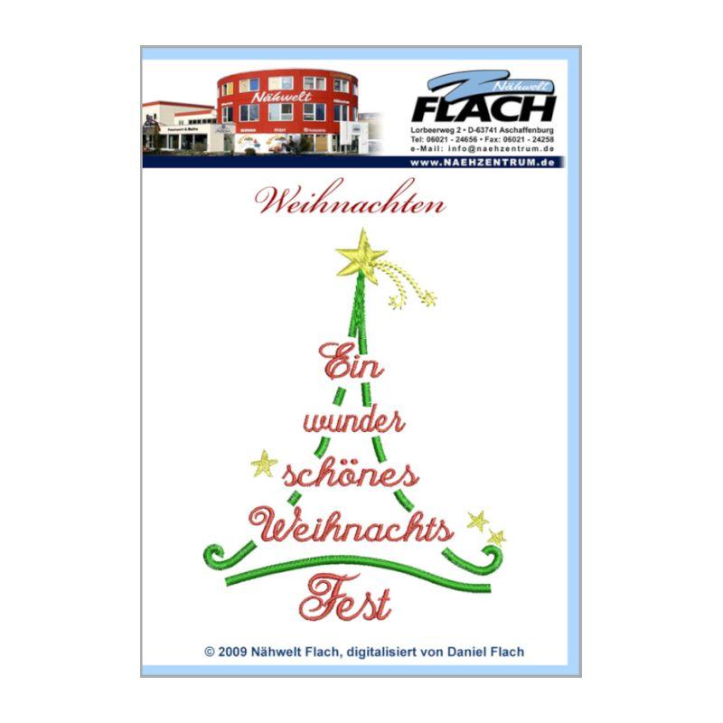 Nähwelt Flach Stickmuster CD Weihnachten | Nähwelt Flach