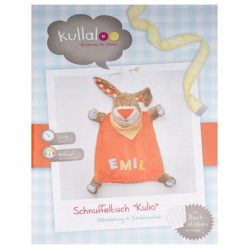 Kullaloo Schnuffeltuch Hase KULIO (35 cm Nähanleitung) | Nähwelt Flach