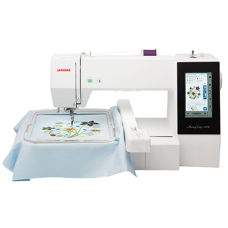 Janome memory craft 500 e n hwelt flach for Janome memory craft 9000 problems